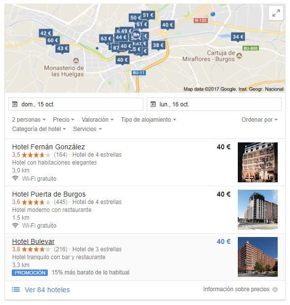Local Pack en Google