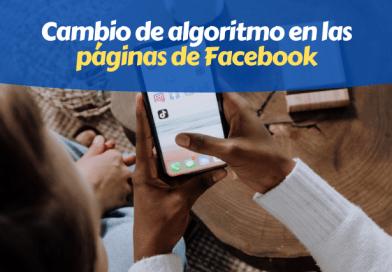 Cambio Algoritmo Facebook Pages