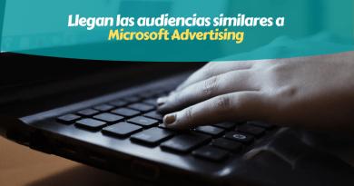 Microsoft Audiencias Similares Bing