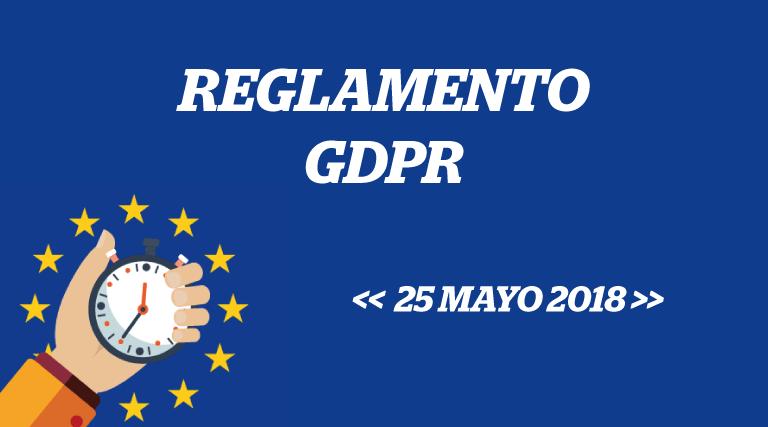 Reglamento GDPR