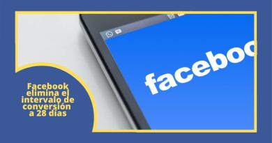 Facebook Intervalo Conversión