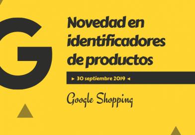 Google Identificador Productos Shopping