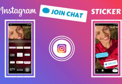 Instagram Join Chat Sticker