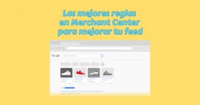 Reglas en Google Merchant