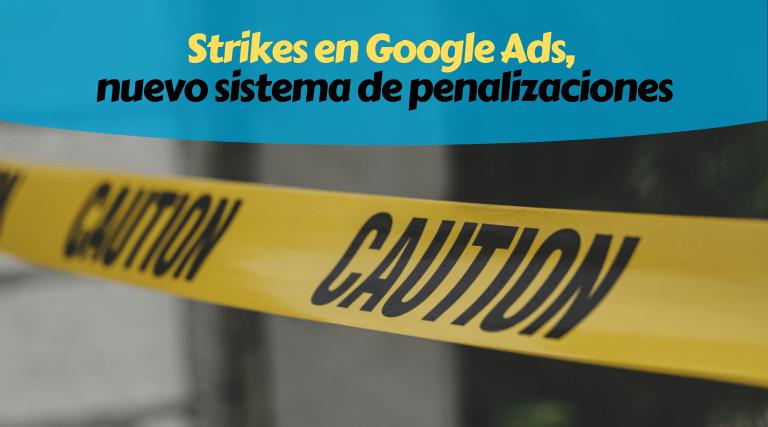 Google Ads Penalizaciones