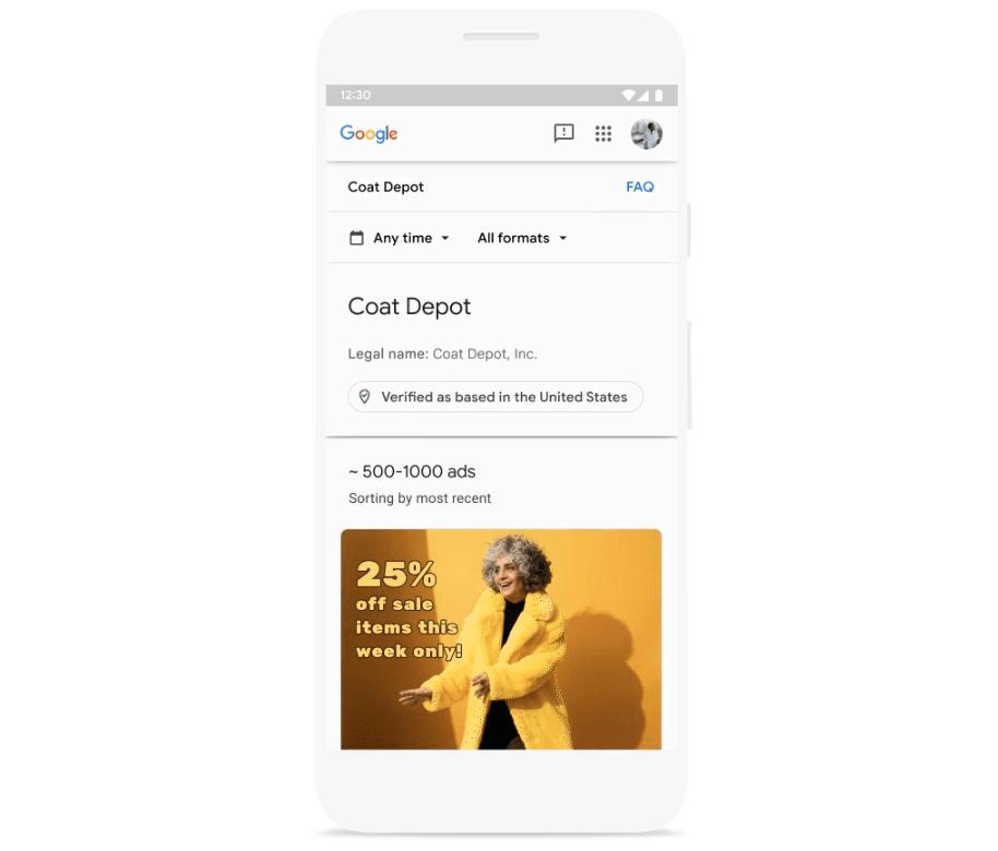 Anunciante verificado Google Ads