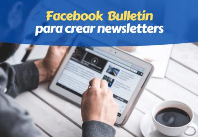 newsletter facebook