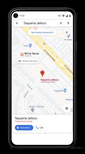 Similar Places Google Maps