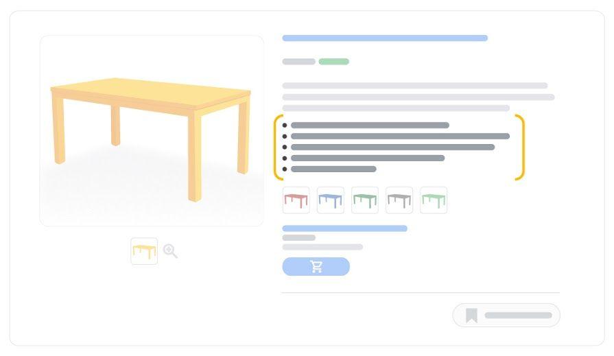 Producto Destacado Google Shopping