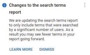 Términos de búsqueda en Google Ads