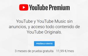 YouTube Premium en España